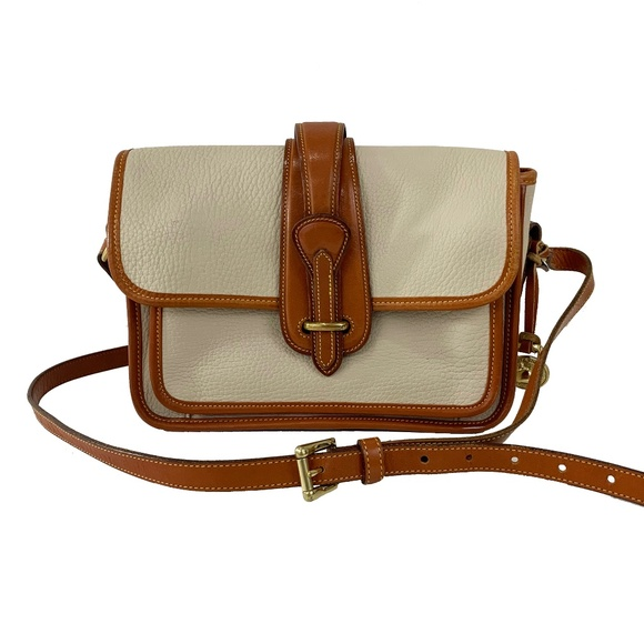 9122fd54dfb6 Dooney   Bourke Handbags - Dooney   Bourke Vintage Equestrian Crossbody Bag